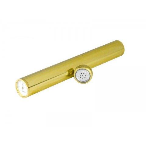 Adorini szivartok 1 szivar számára cédrusfa béléssel, párásítóval és hygrométerrel - arany színű