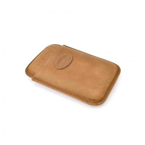 Szivartok - 3 szivar részére, barna bőr, Robusto - Padonio