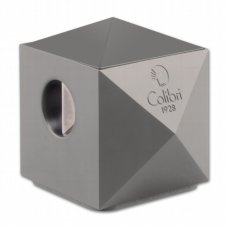 """COLIBRI """"Quasar"""" asztali szivarvágó ezüst lakkozott  24/27mm"""