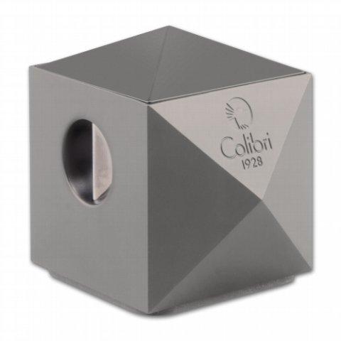 """COLIBRI """"Quasar"""" Gunmetal asztali szivarvágó lakkozott  24/27mm - szürke"""