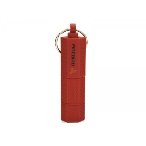 Firebird kulcsra akasztható 6 és 9mm szivarfúró - piros