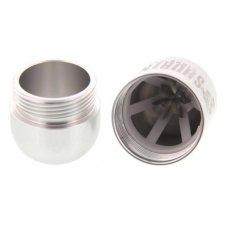Shuriken speciális 6 pengés szivarvágó fém házzal nagy méretű szivarokhoz is használható - ezüst