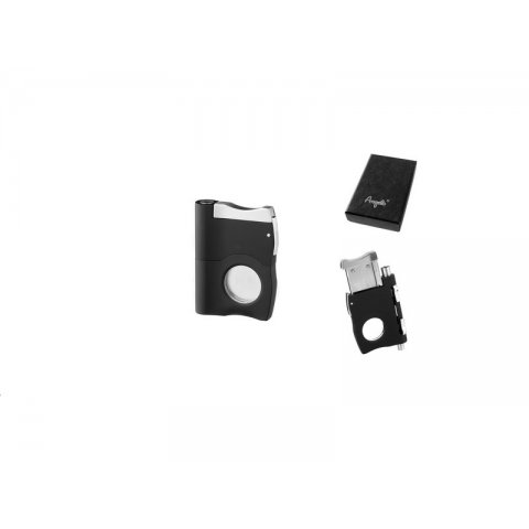 Angelo szivarvágó és szivarfúrók egyben 6+8mm - fekete