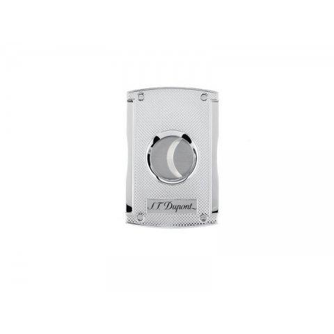 S.T. Dupont MaxiJet - Quadrillage szivarvágó gyémánt mintás - 21mm, Króm
