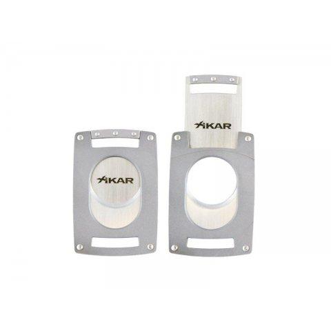 Xikar Ultra Slim Silver szivarvágó ezüst színű - nagy méretű szivarokhoz is!
